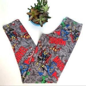 Marvel Heroes Comic Book Superhero Leggings